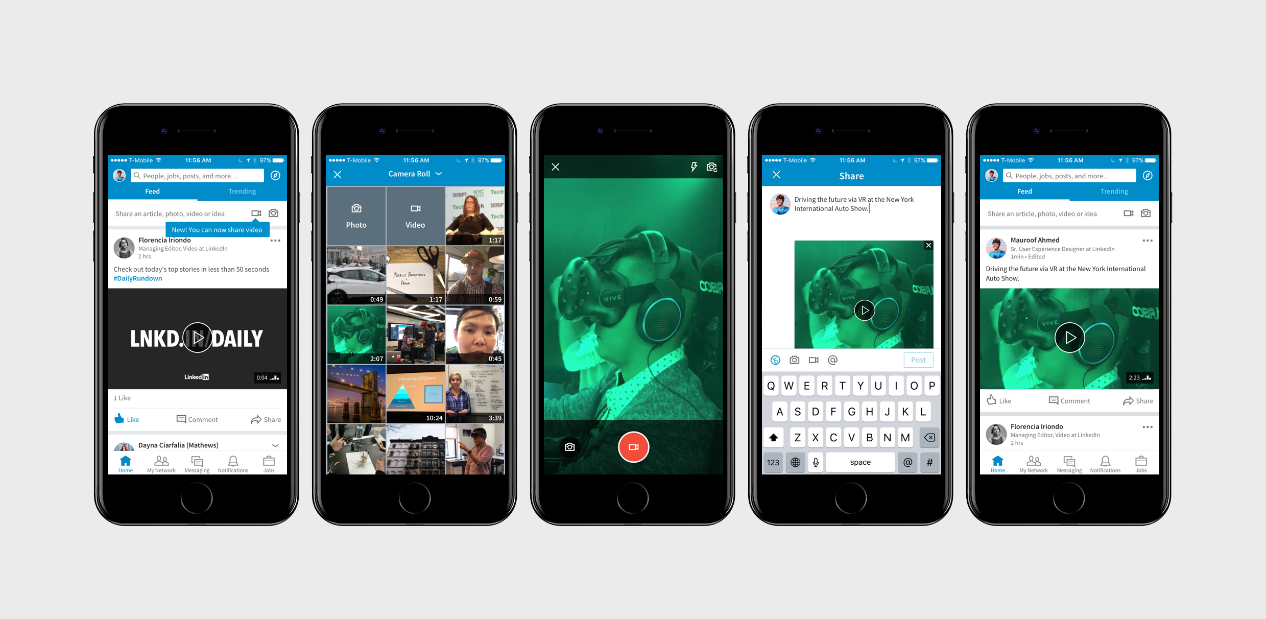 LinkedIn's Rolling Out Native Video to All Users | Social Media Today