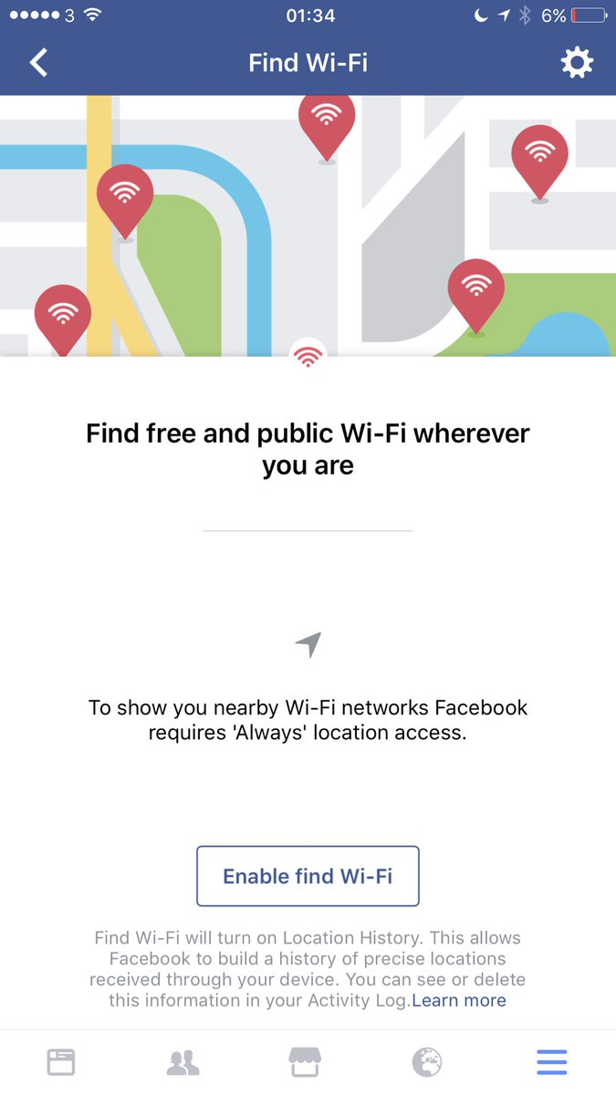 Facebook's Rolling Out its Free Wi-Fi Detection Map to All Users | Social Media Today