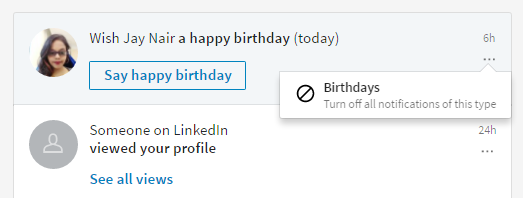 How to Switch off Notifications in LinkedIn | Social Media Today