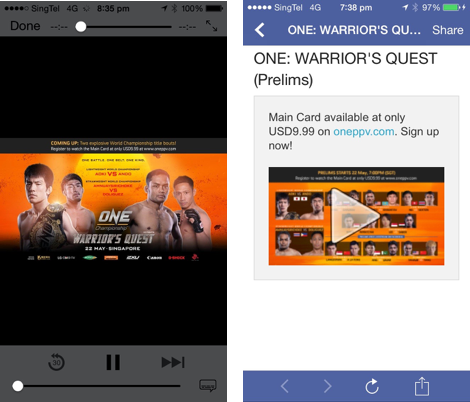 Facebook Marketing Done Right - 'ONE Championship' | Social Media Today