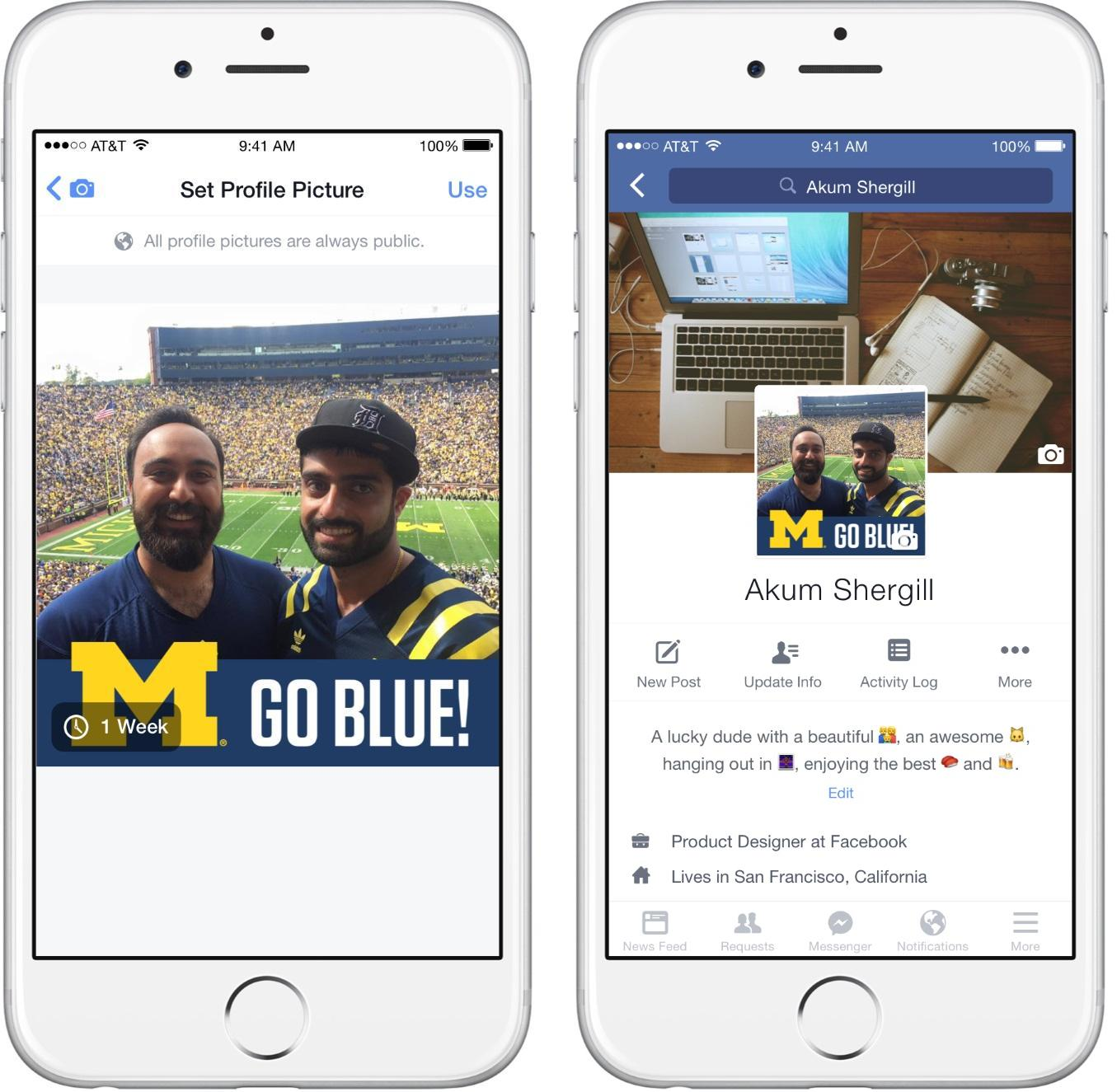 Taking Cues from Snapchat, Facebook Experiments with 'Team Frames' | Social Media Today