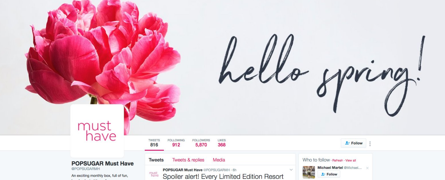 Twitter Provides Key Tips and Stats for Maximizing Your Social Outreach in Spring | Social Media Today
