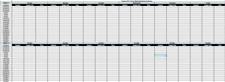 How to Create a Social Media Content Calendar | Social Media Today