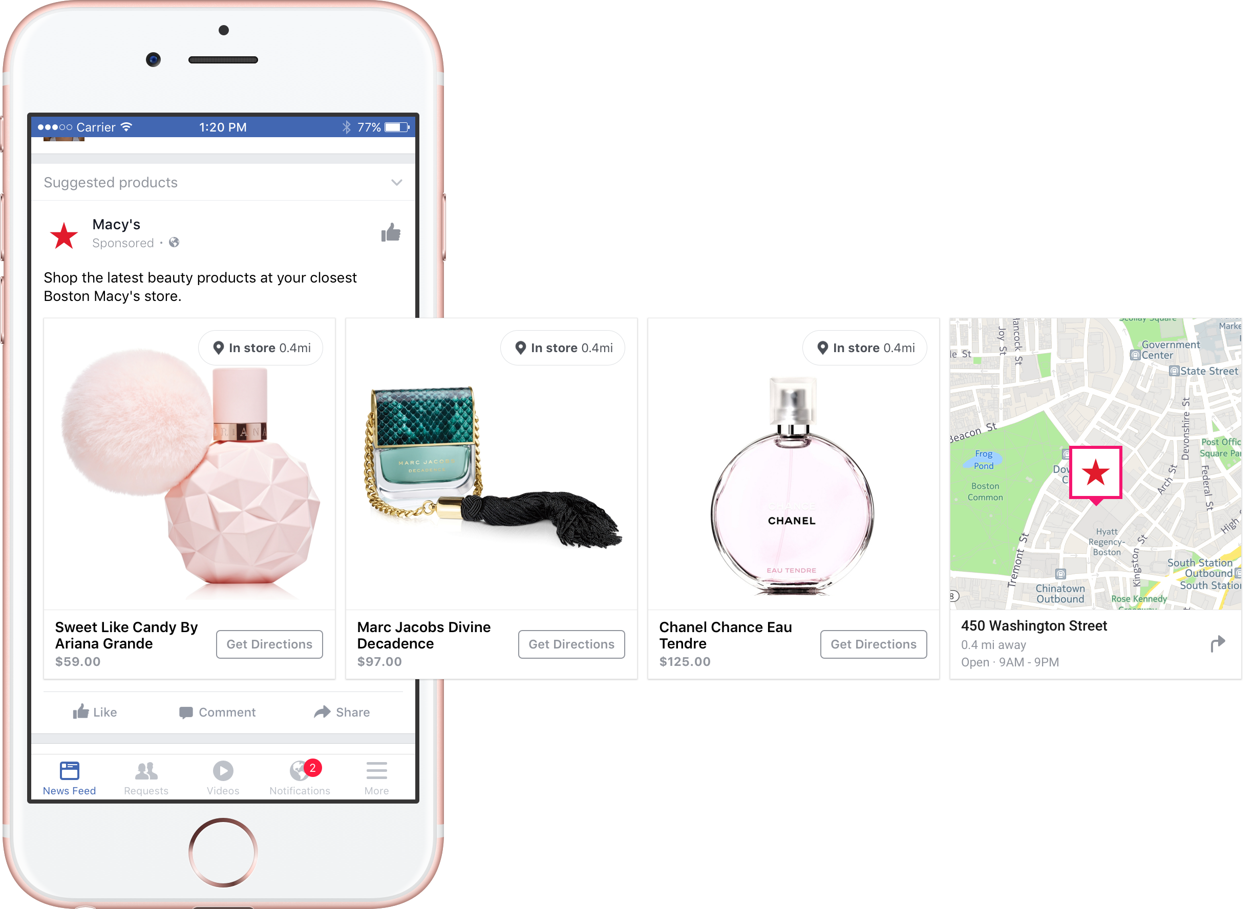 Facebook Introduces New Ad Options Focused on Driving In-Store Actions | Social Media Today
