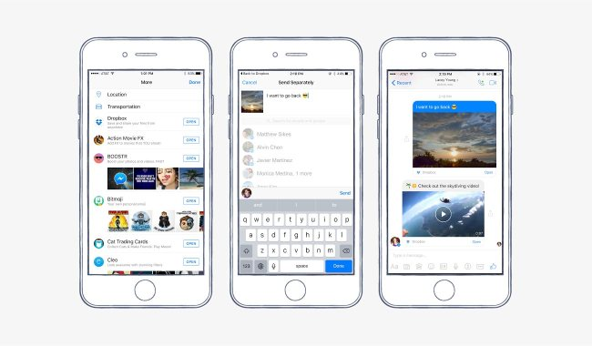 Facebook Announces Video Chat Heads for Messenger, Dropbox Integration | Social Media Today