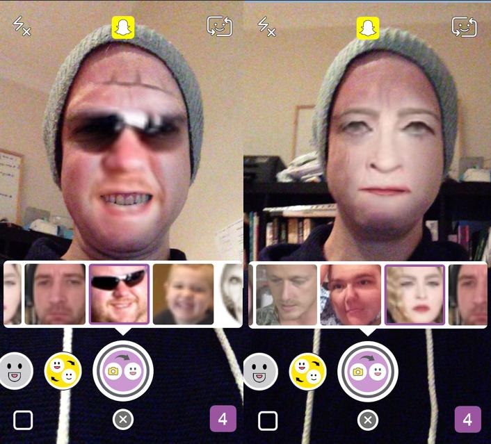 Snapchat Updates Face-Swap Feature, Removes Paid Snap Replays | Social Media Today