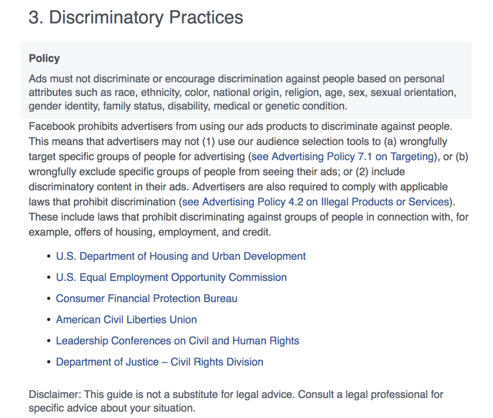 Facebook Makes Moves to Stop Discriminatory Ad Targeting | Social Media Today