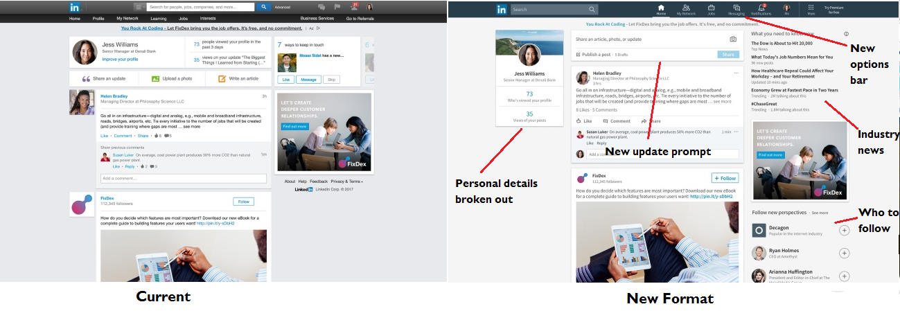 LinkedIn Announces Release of New Desktop Experience | Social Media Today
