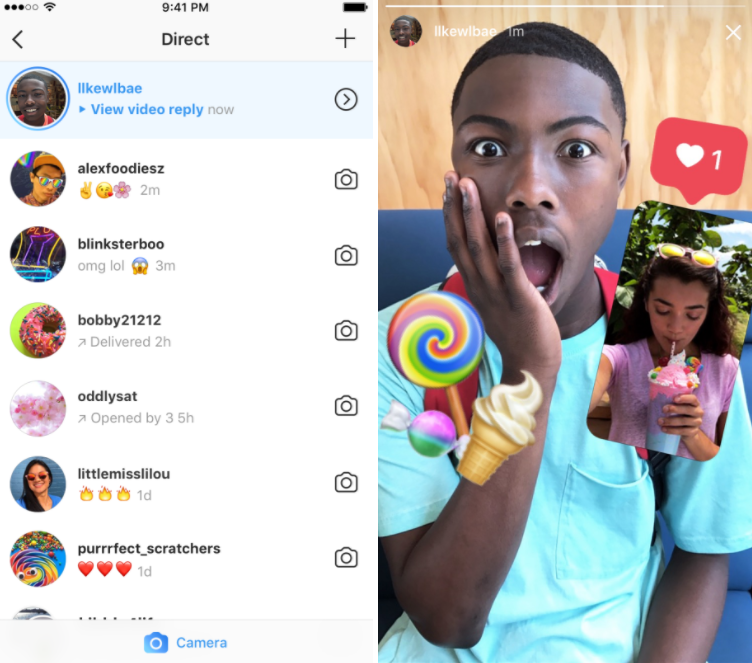 Instagram Adds Video Replies to Stories, Increases Pressure on Snapchat | Social Media Today