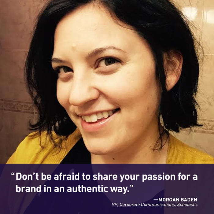 All The Social Ladies: Morgan Baden of Scholastic [Podcast]   Social Media Today