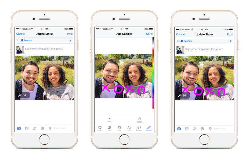 Facebook Gives Users the Ability to Draw on Photos with New Feature | Social Media Today