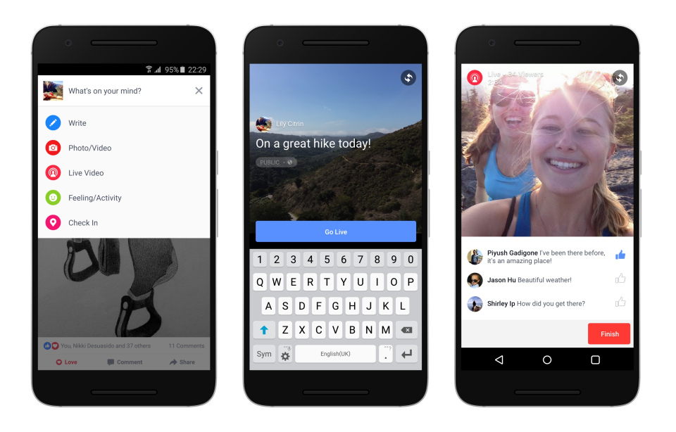 Facebook Gives Live Videos a News Feed Boost | Social Media Today