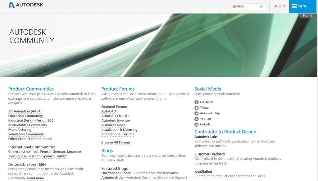 Autodesk_online_community