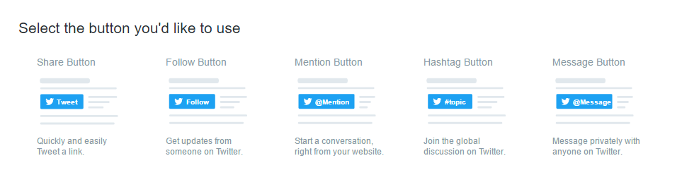 Twitter's New Button Enables People to DM you Direct from your Website | Social Media Today