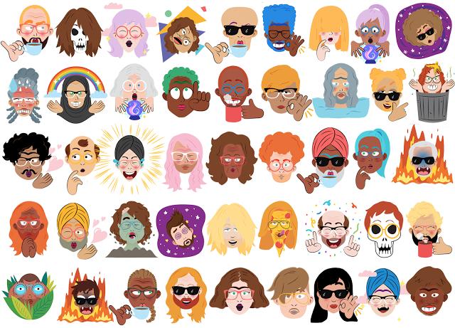 Google Releases Bitmoji-Like Selfie Animation Tool for Allo   Social Media Today