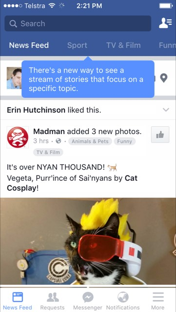 Facebook's Introducing Topic-Specific News Feeds to Deliver More Content | Social Media Today
