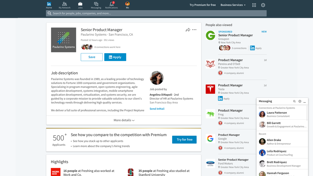 LinkedIn Unveils New Look Desktop Experience, New Features | Social Media Today