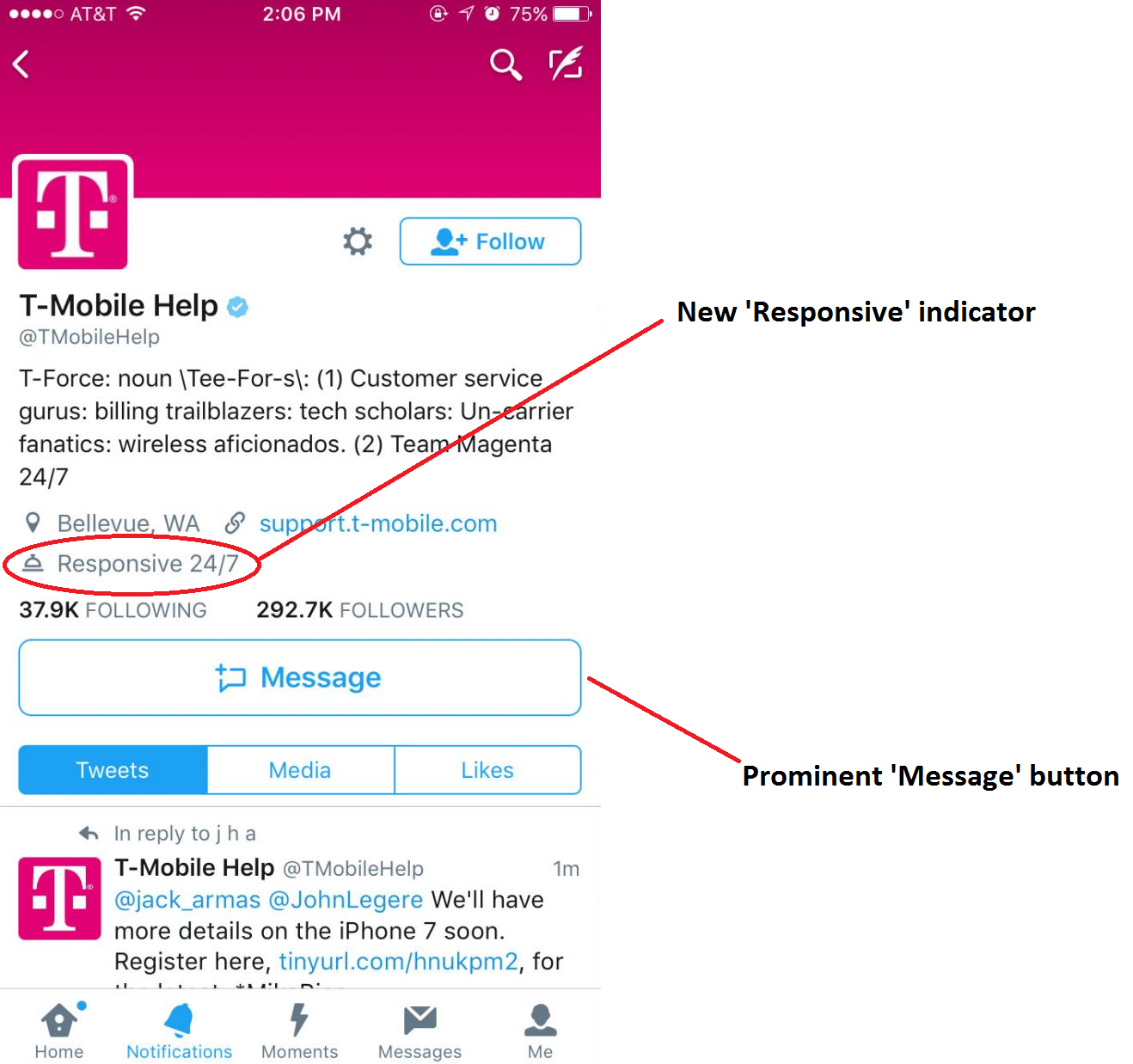 Twitter Adds Location-Sharing Tools to Customer Service via DM Options | Social Media Today