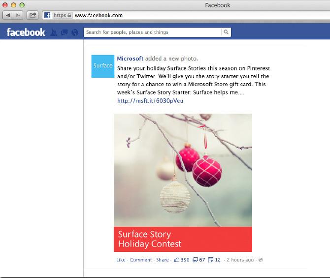 social media campaign microsoft
