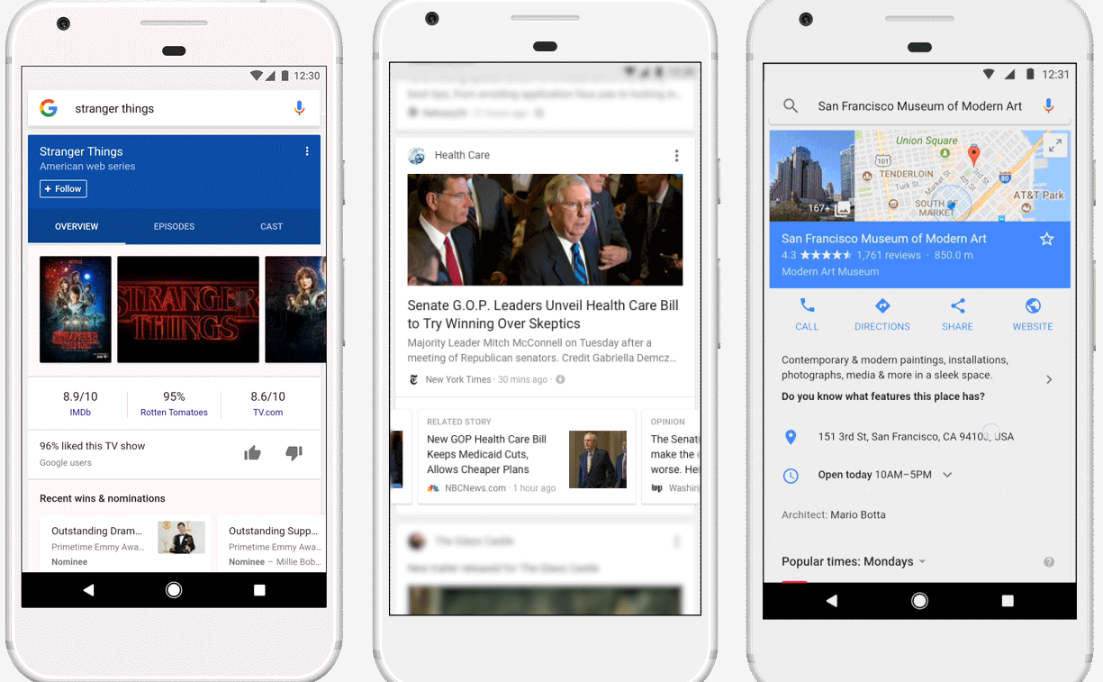 Google Introduces New, Personalized Information Feed to Improve the Utility of their App | Social Media Today