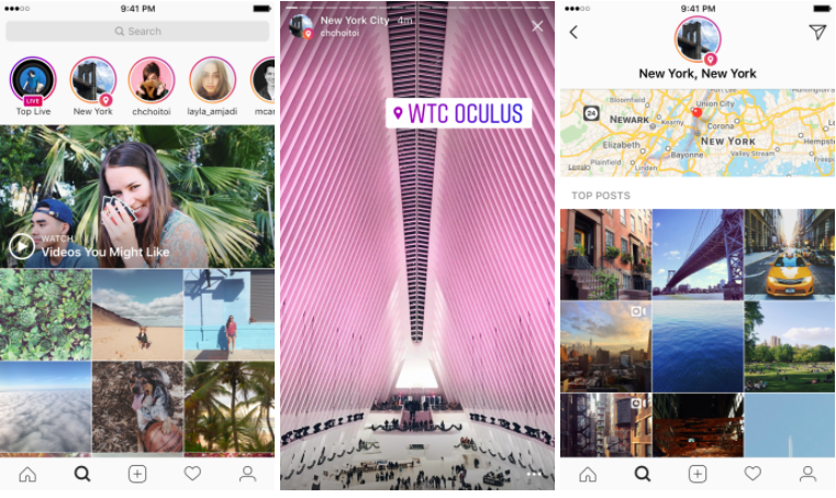 Instagram Adds Search Options for Stories, by Hashtag and Location