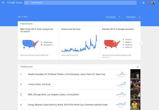 Google Updates Google Trends with Real-Time Insights and Additional Data Sources | Social Media Today