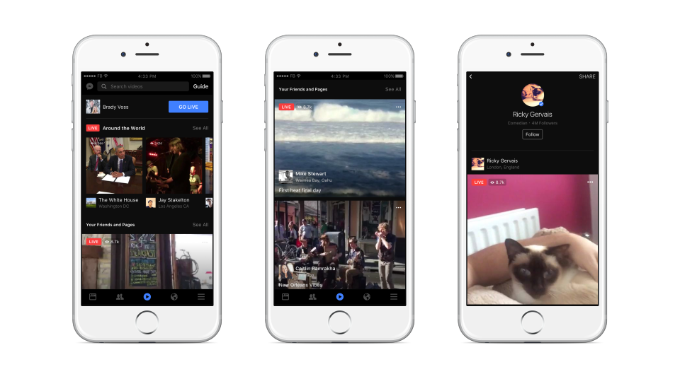 Facebook Announces New Response Graph for Live Content | Social Media Today