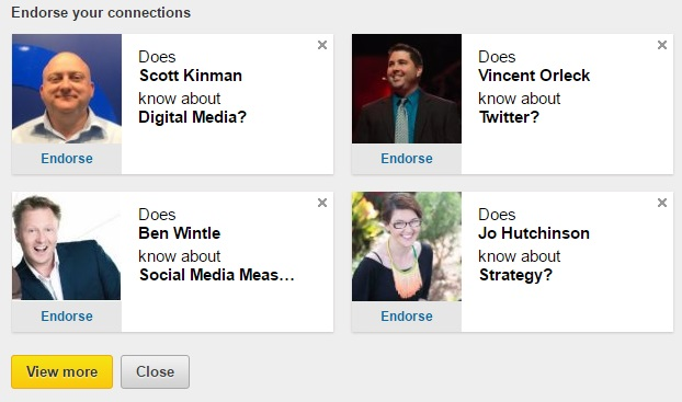 LinkedIn's Looking to Make Endorsements More Relevant - Here's How | Social Media Today