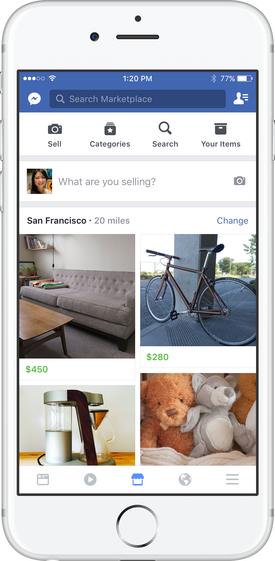 Facebook Unveils New Marketplace Option to Facilitate Buying and Selling Opportunities | Social Media Today