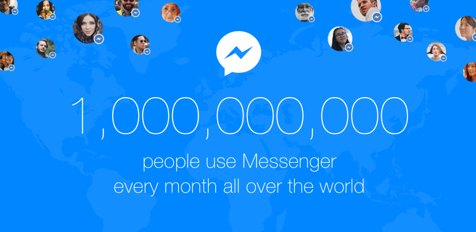 Facebook Messenger Reaches 1 billion Monthly Active Users (and Why That Matters) | Social Media Today