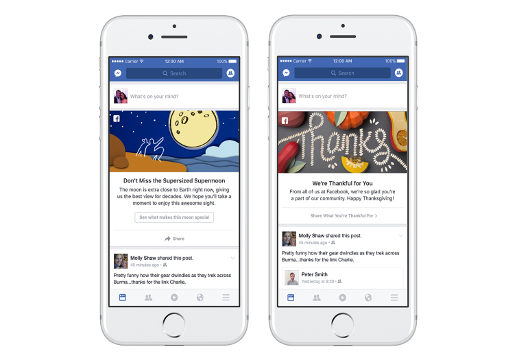 Facebook Adding New Event Prompts to Boost Personal Sharing | Social Media Today