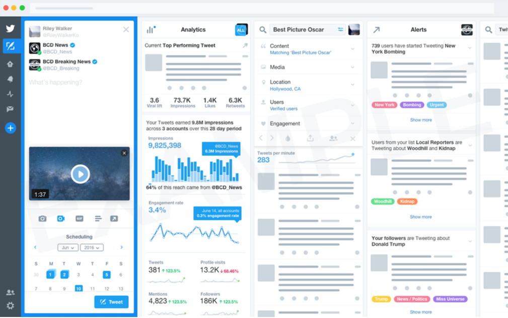 Twitter's Considering an Advanced Version of TweetDeck - for a Monthly Fee | Social Media Today
