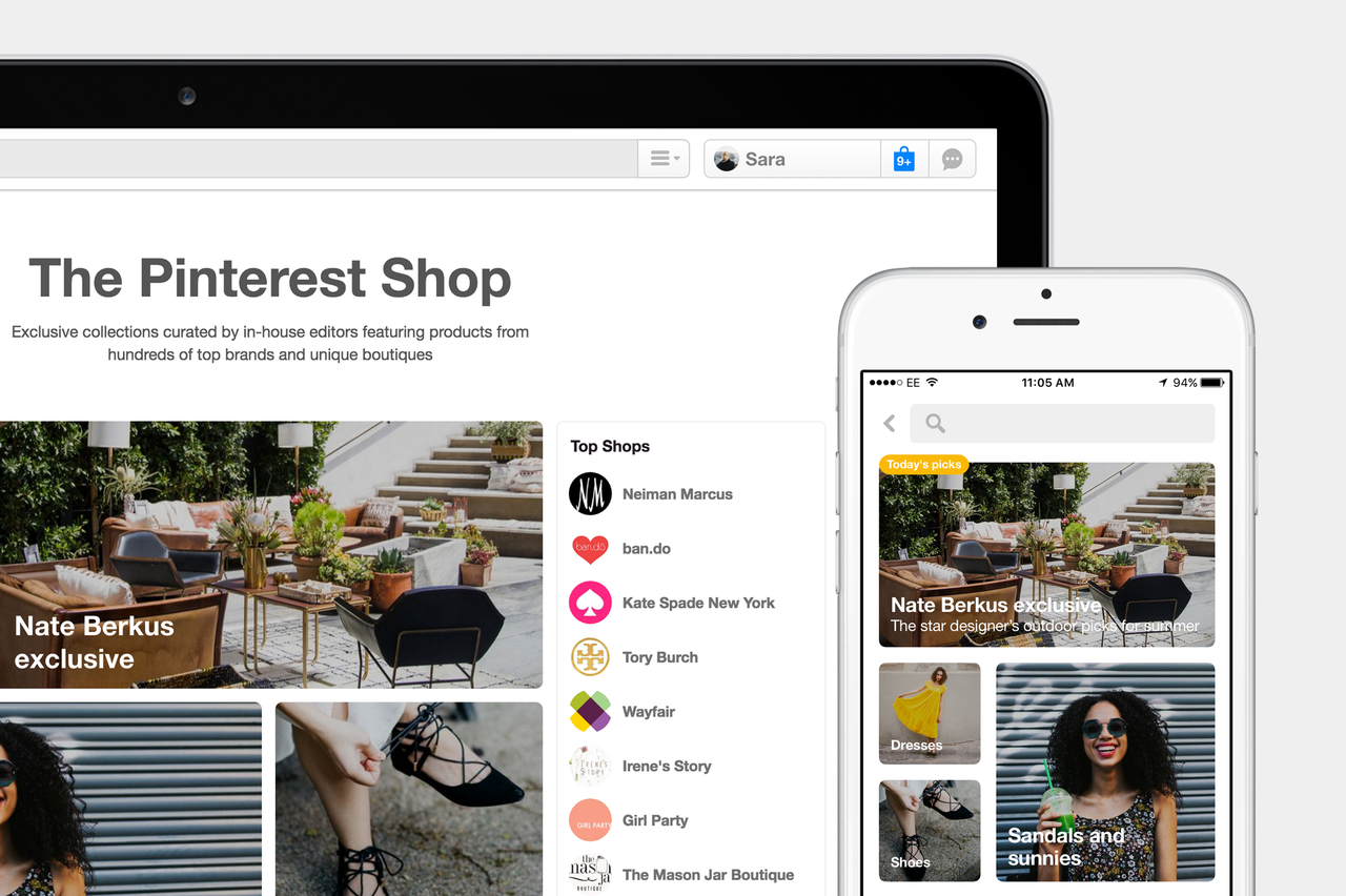 Pinterest Announces New Discovery Tools, Expansion of Buyable Pins | Social Media Today