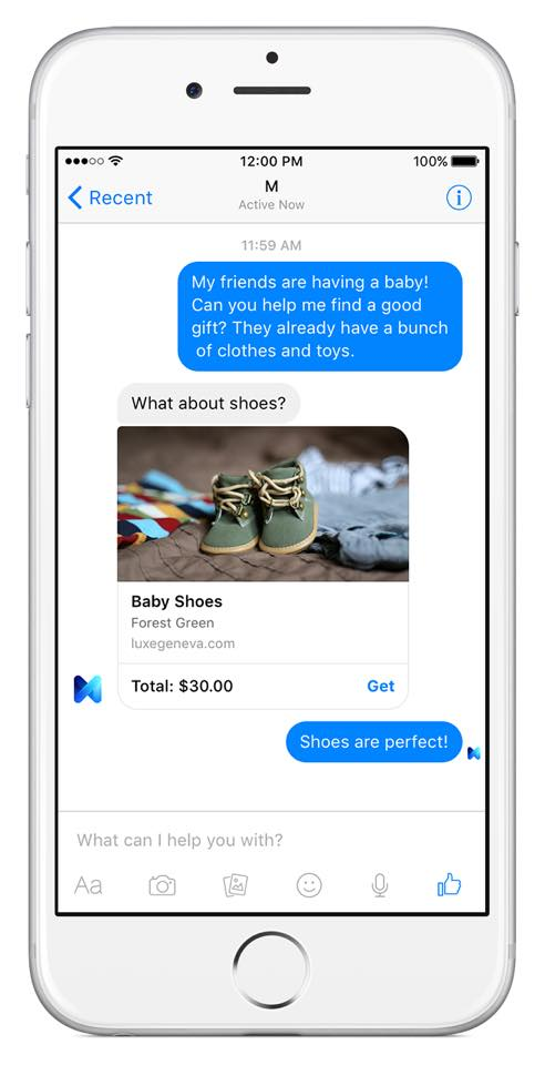 Facebook Introduces M for Messenger - A Challenger for Siri, Cortana | Social Media Today