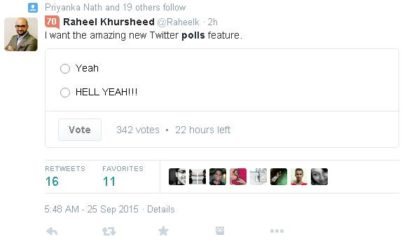 Twitter Experimenting with Polls in Tweets | Social Media Today