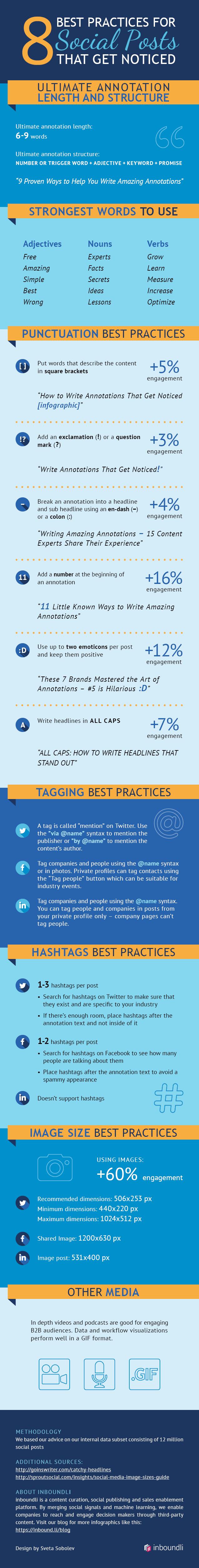8 Social Media Posting Practices