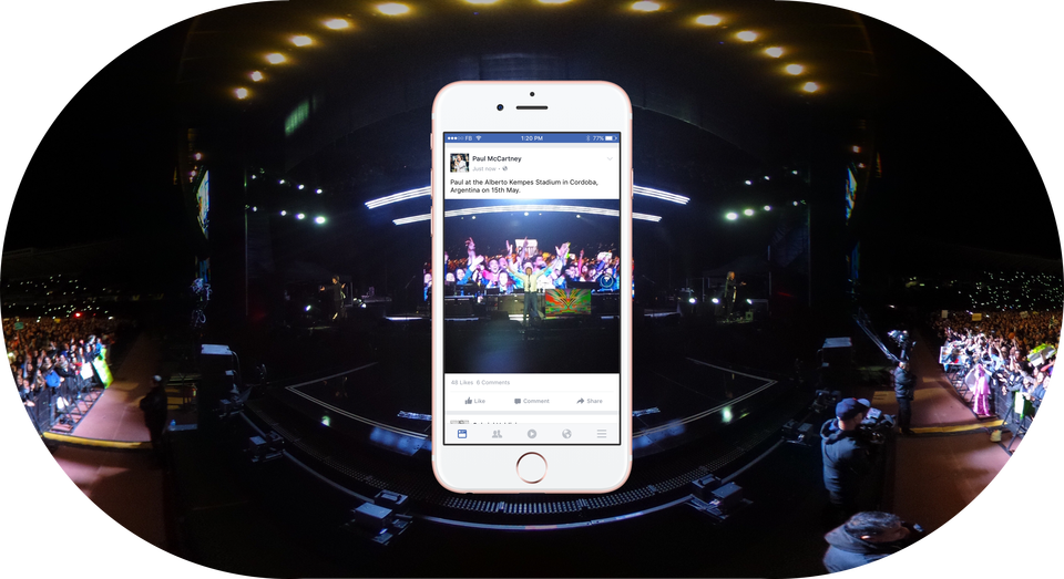 Facebook Introduces 360 Photos - The Next Step in the VR Shift | Social Media Today