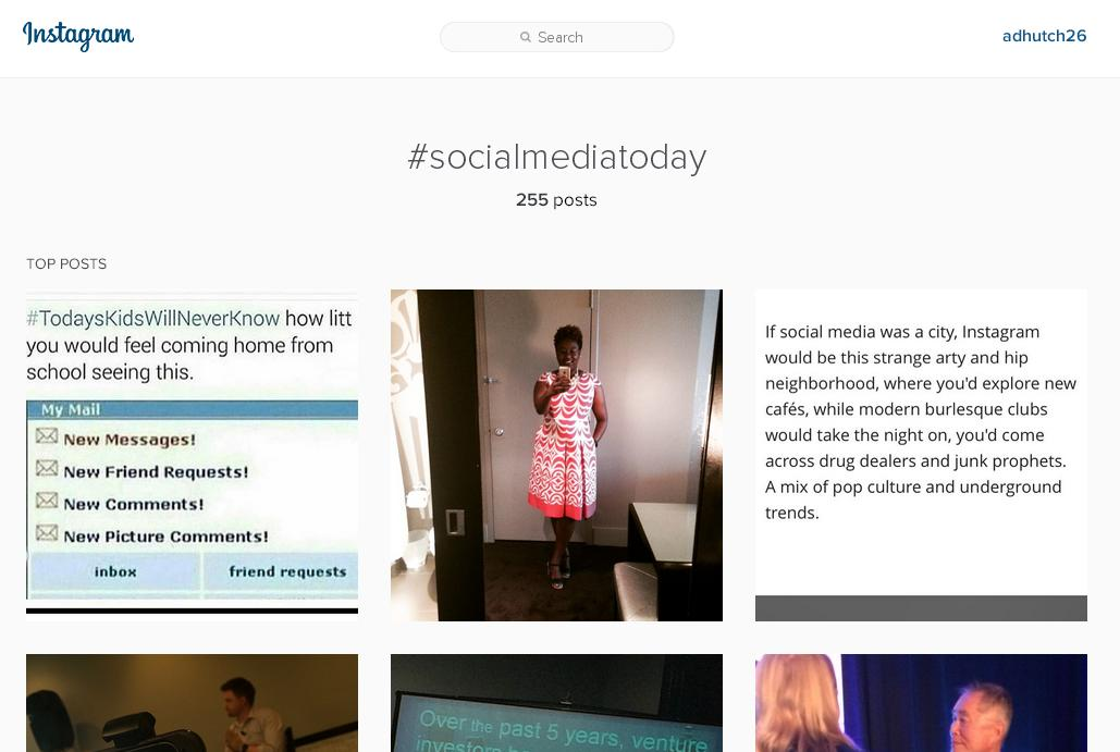 Instagram Unveils Expanded Desktop Search Functionality   Social Media Today