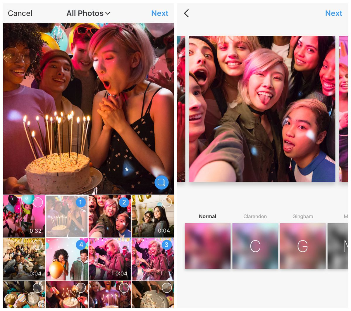 Instagram Now Lets You Add Up to 10 Photos and Videos in a Single Post | Social Media Today