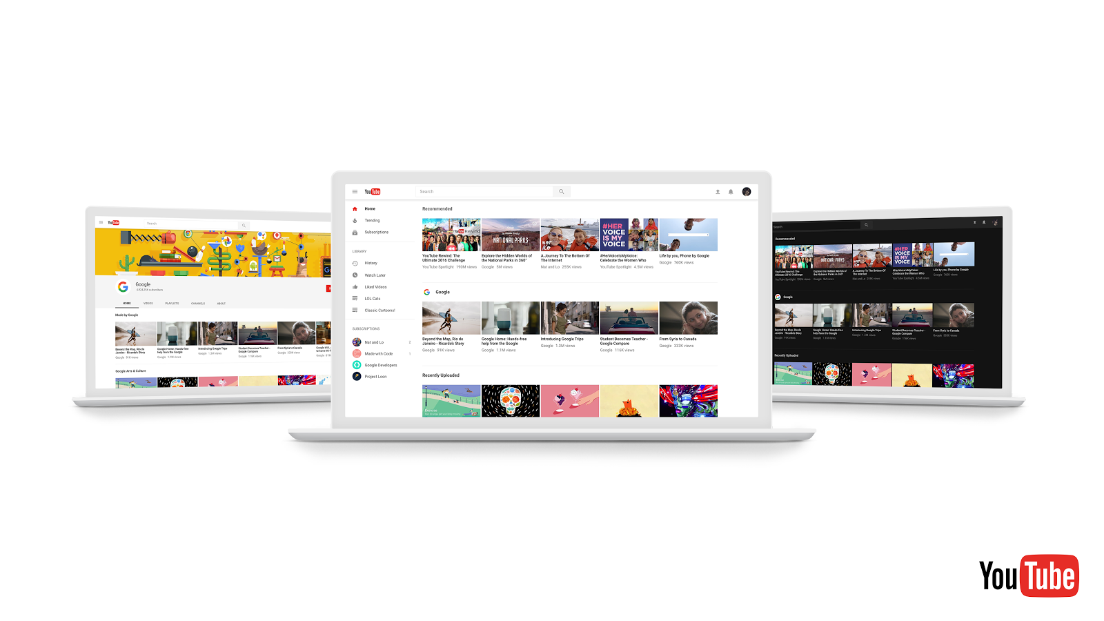 YouTube Announces App Redesign, New Logo   Social Media Today