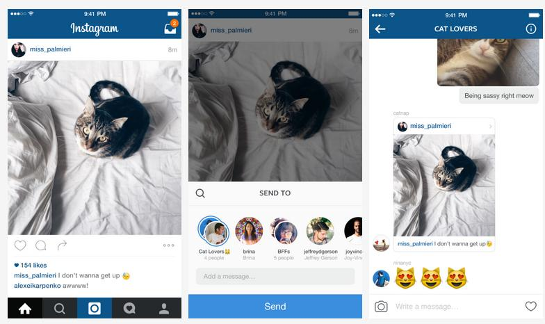 Instagram Upgrades Direct Messaging Functionality with New Features | Social Media Today