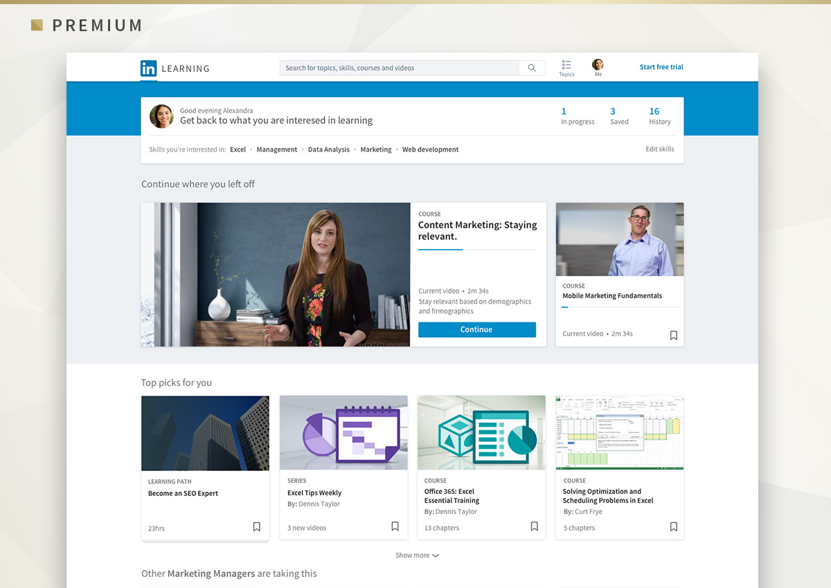 LinkedIn's Added Some New Features to their Premium Offerings | Social Media Today