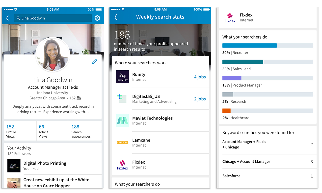 LinkedIn Adds Extra Insights to Profile Views Data, Including Keywords Used to Find You | Social Media Today