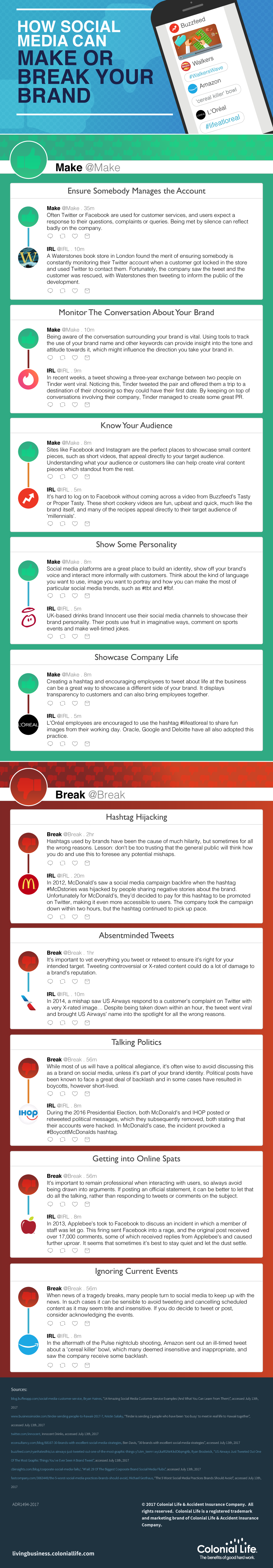 How Social Media Can Make or Break Your Brand [Infographic] | Social Media Today