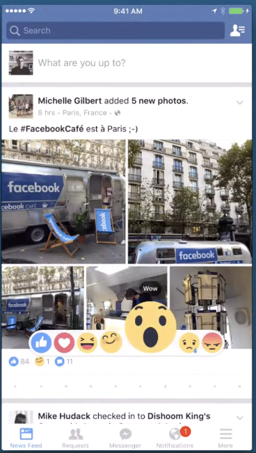Facebook Unveils 'Reactions', a New Way for Users to Respond to Content | Social Media Today