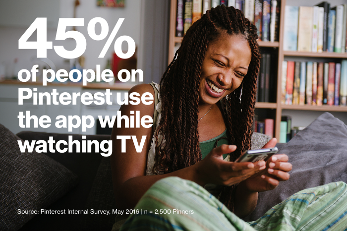 Pinterest and TV Go Hand-in-Hand [Infographic] | Social Media Today