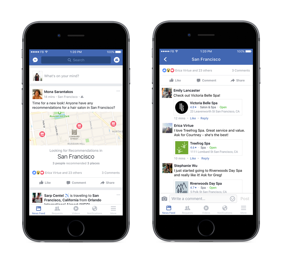 Facebook Introduces New Features to Capitalize on Growth in Reviews | Social Media Today
