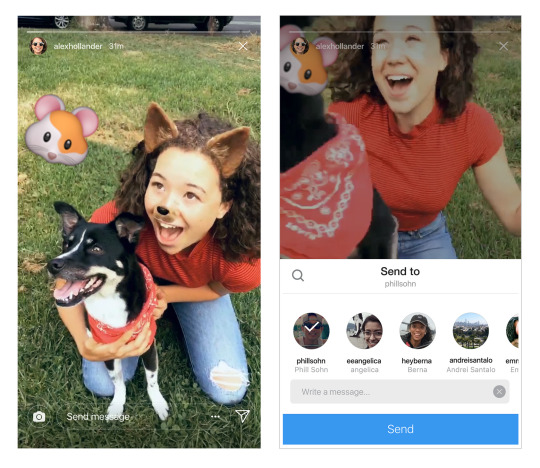 Instagram's Adding the Ability to Share Stories via Direct Messages | Social Media Today