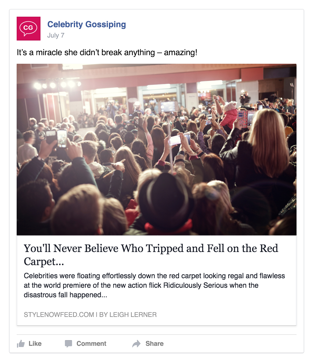 Facebook Updates News Feed Algorithm to Reduce the Reach of Clickbait | Social Media Today