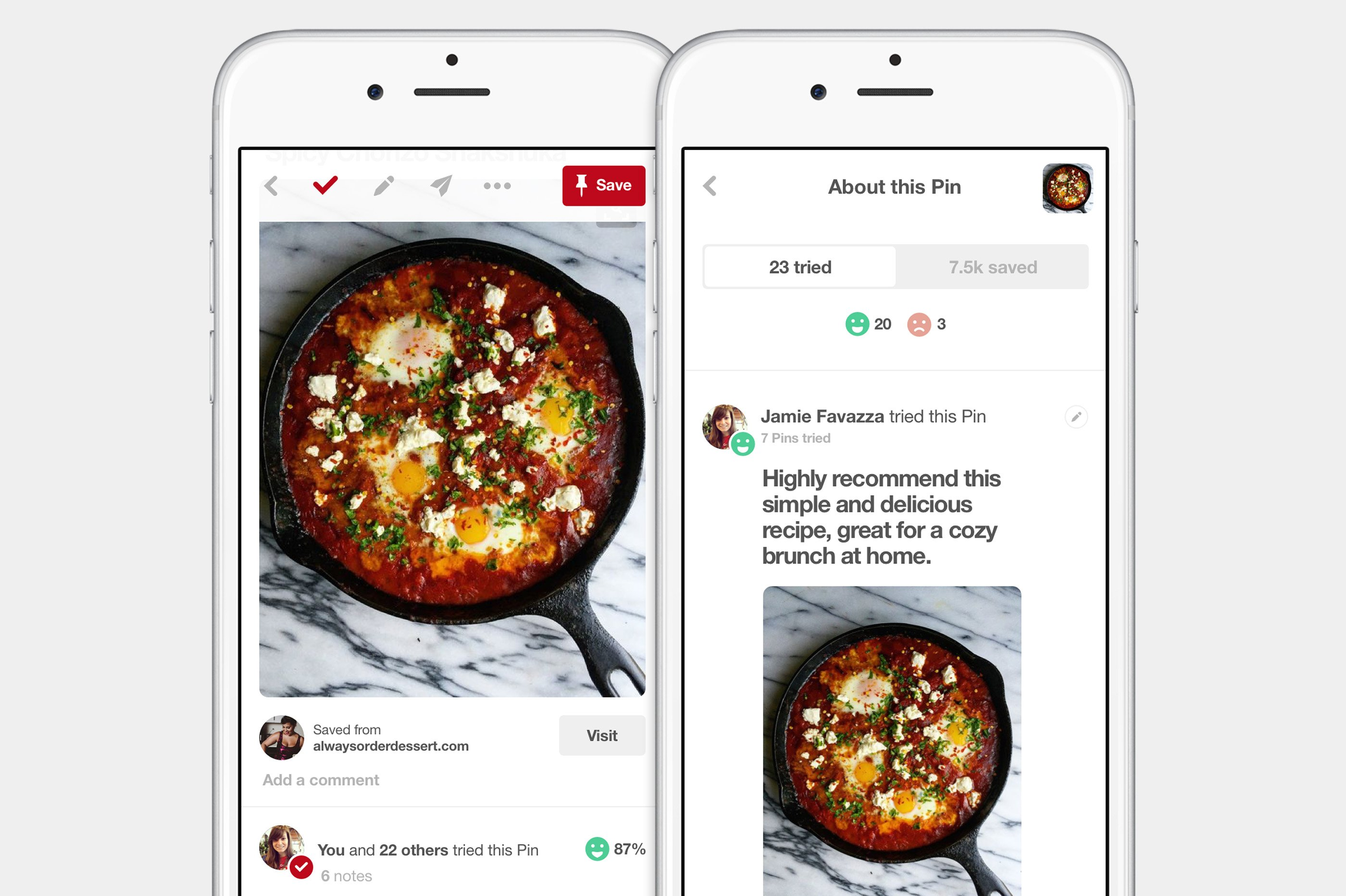 Pinterest Adds New Checkmark for Ideas You've Tried | Social Media Today